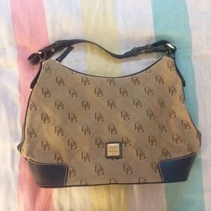 Dooney and Bourke Logo Shoulder Bag
